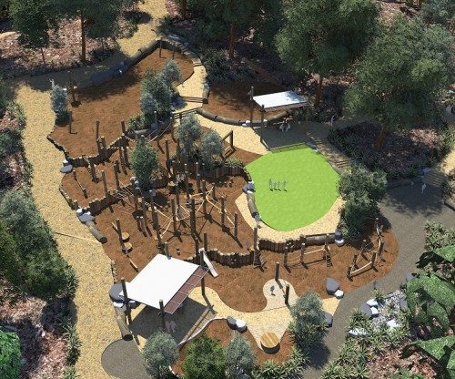 Valley Reserve playspace wins Parks and Leisure Australia state award