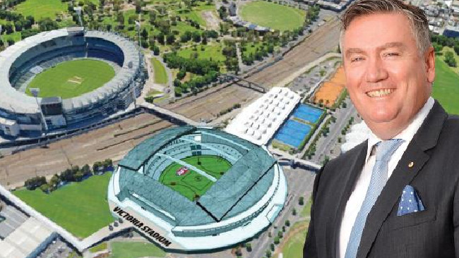 TV's McGuire leads push to demolish Melbourne's Etihad Stadium and Hisense Arena for new AFL venue