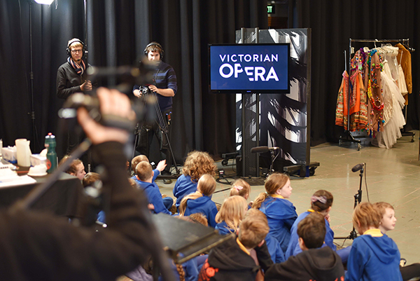 Victorian Opera delivers pioneering program to primary school students