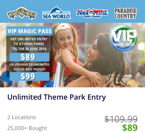 Village Roadshow moves away from low cost theme park passes