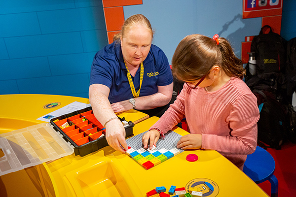 Vision Australia partners with LEGOLAND Discovery Centre