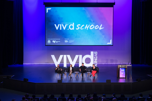 ICC Sydney welcomes students to Inaugural Vivid School