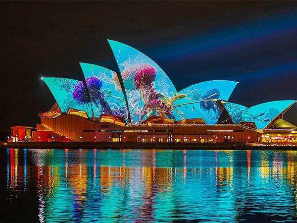Work commences on Vivid Light as dates announced for Vivid Sydney 2021