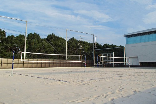 Toyota opens largest all-weather volleyball facility in Japan