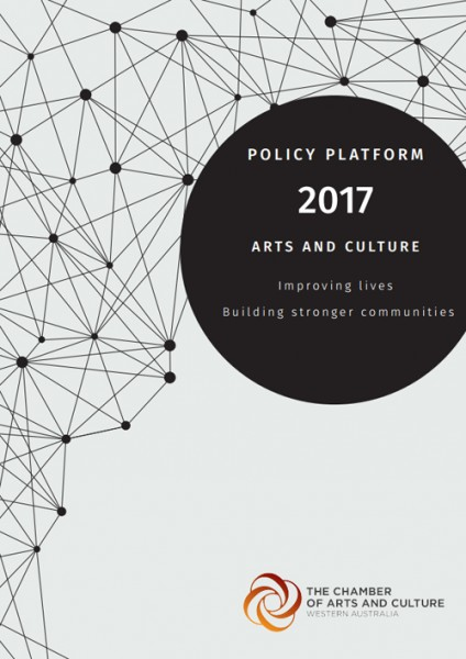 Chamber of Arts and Culture issues policy platform for 2017 Western Australian election