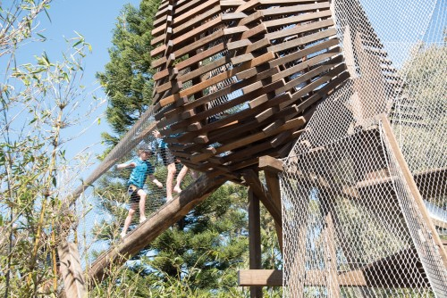 $4 million Nature Play Garden officially opened in Sydney's Centennial Parklands