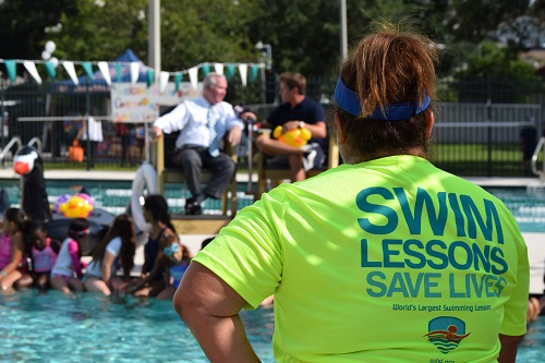 World's Largest Swimming Lesson set to mark 10th anniversary