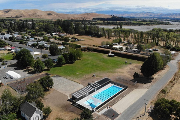 Myrtha Pools technology installed at rebuilt Waiau Swimming Pool