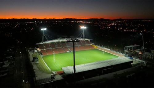 Second big screen installed at Waikato Stadium