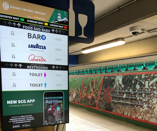 SCG introduces technology to reduce food and beverage queues