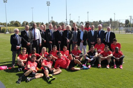 Western Sydney Wanderers to be key part of expanded Blacktown Football Park