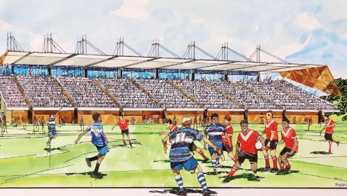 Design revealed for new Darwin rugby league stadium