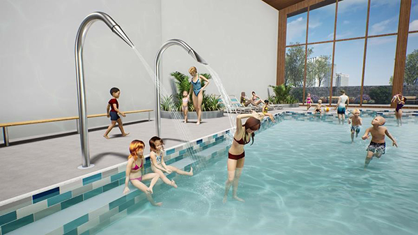 Waterplay releases Aquatic Therapy features designed for Aquatic Centres