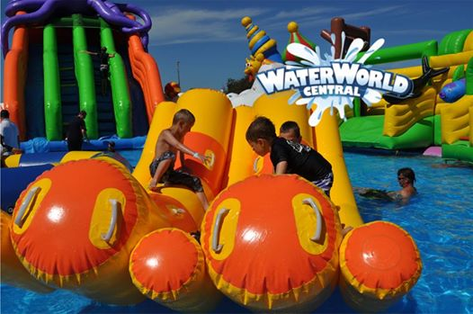 Queensland council offers to waive park hire fee to boost inflatable waterpark attraction