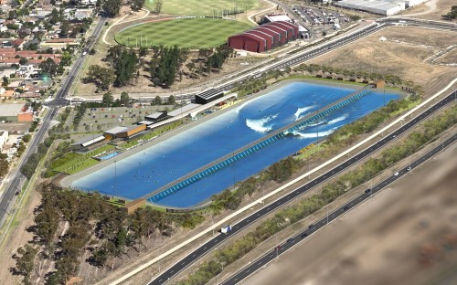 Melbourne Airport location for first surf park in Australia