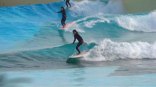 Asia's largest surf park opens in South Korea