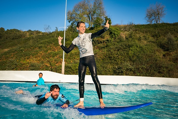 Wavegarden facility shows therapeutic benefits of surfing