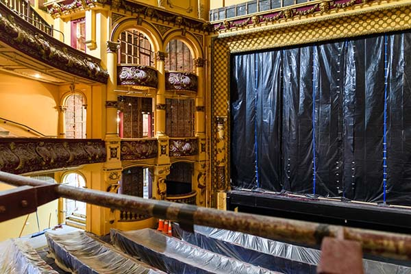 Wellington's St James Theatre set to be ready for 2022 New Zealand Festival