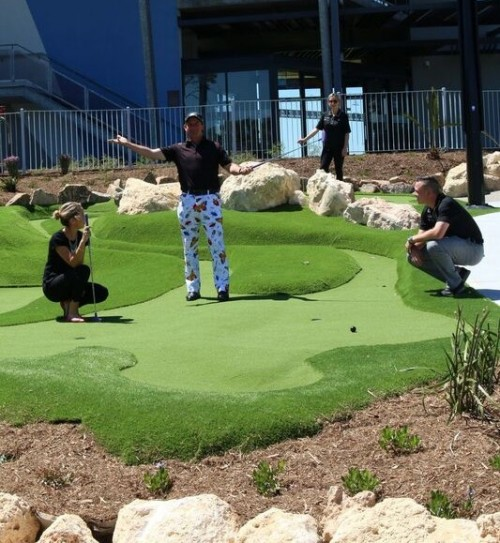 New Mini Golf course replicates the 18-hole experience