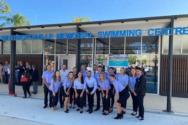 Western Sydney's Wentworthville swimming pool reopens after $12.2 million upgrade