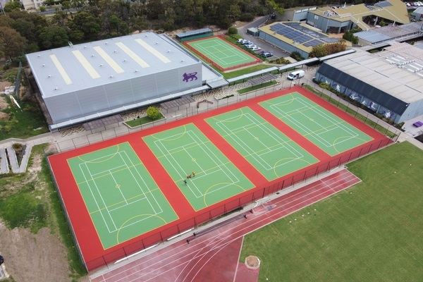 Grassports installs Laykold Advantage courts at Melbourne's Wesley College