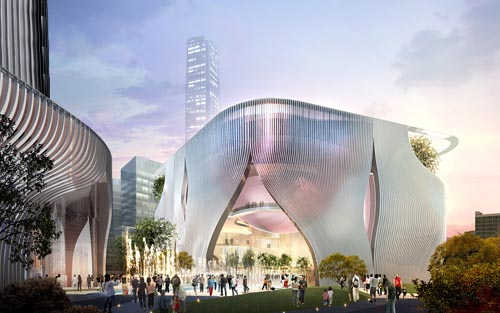 Construction advances on West Kowloon Cultural District venues