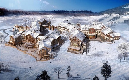 Starwood unveils first dual-branded ski resort complex in China