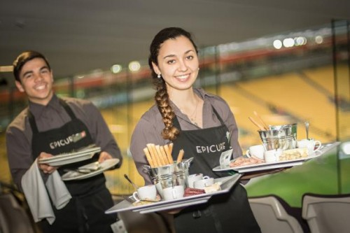 Westpac Stadium plates up with Epicure