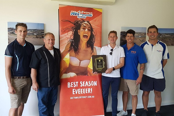 US-based aquatic safety consultants award Wet'n'Wild Sydney lifeguards