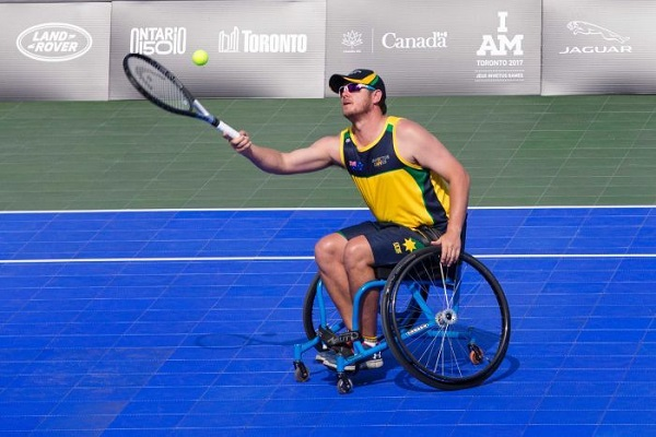 Arafura Games wheelchair tennis tournament will not be staged on sloping main court at Darwin International Tennis Centre