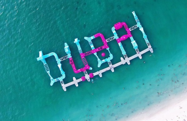 New Wibit aquatic playground promotes Dubai tourism at landmark beach