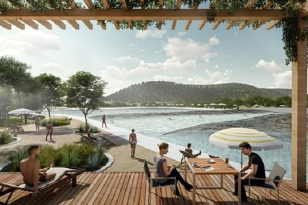 Plans revealed for surf wave park at golf resort in outer Western Sydney