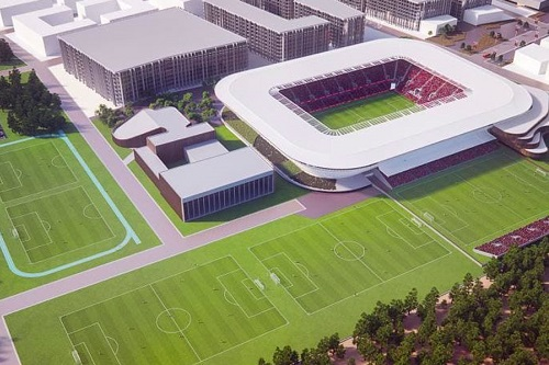 Successful A-League bid group unveils new plans for Western Melbourne Stadium