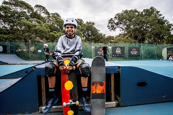 YMCA Anglesea skate program helps reconnect indigenous youth with country and culture