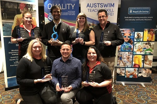 YMCA NSW cleans up at the ACT Aquatic Industry Awards