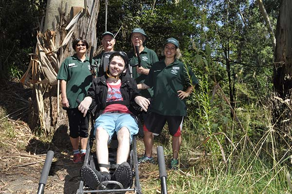 YMCA Victoria partners with Parks Victoria to deliver training for inclusive outdoor recreation program