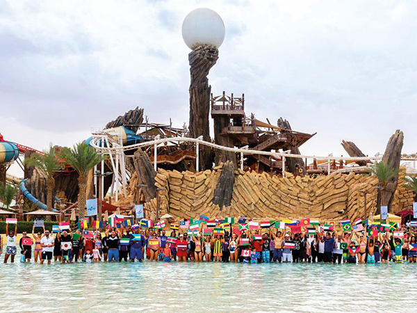 Yas Waterworld sets Guinness World Record