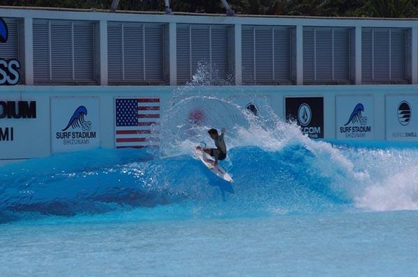 Japan and USA Olympic Surf Teams to train at PerfectSwell Shizunami