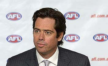 AFL's McLachlan commits to games at new Perth stadium