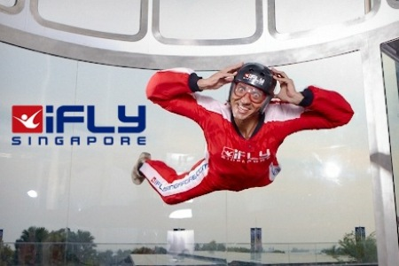 Singapore iFLY up and running