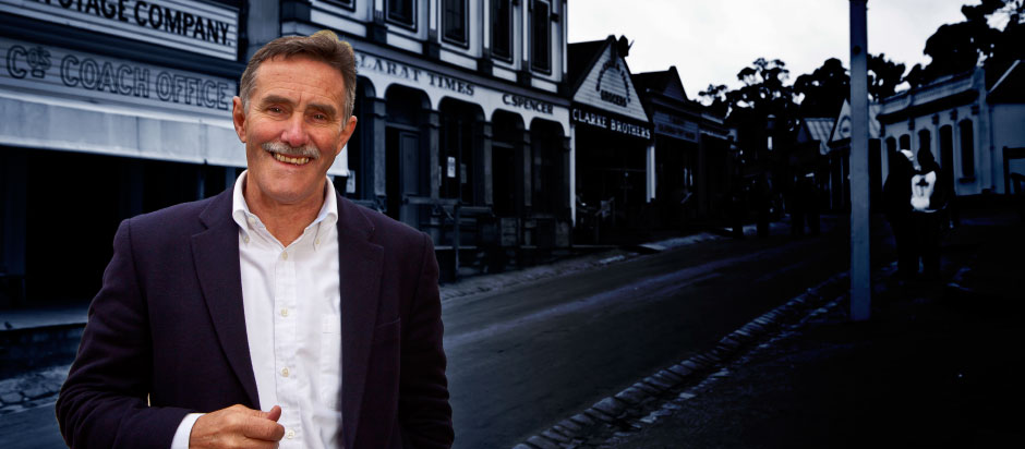 Jeremy Johnson to step down from Sovereign Hill Chief Executive's role