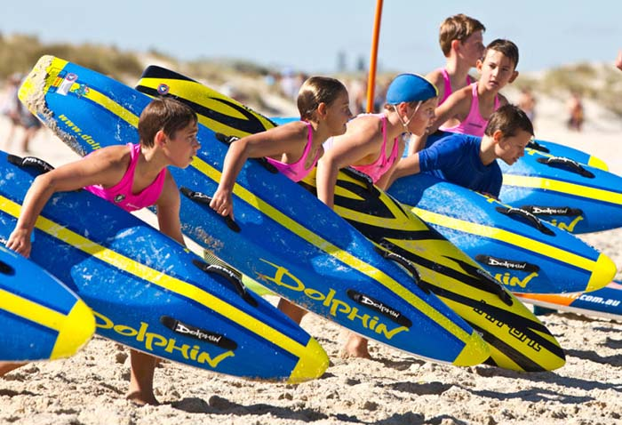 Lotterywest provides $700,000 to Surf Life Saving WA to support nippers program
