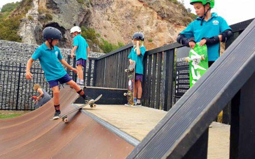 Permanent skate park and community green planned for Christchurch