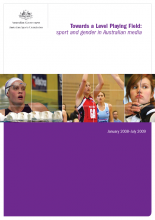 Ellis Releases Report on Gender, Sport and Media