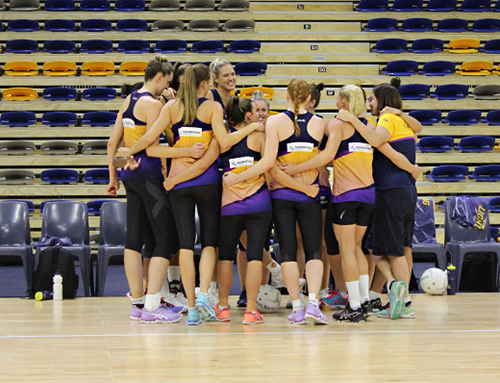 Funding transforms indoor USC Stadium and boosts champion netball team