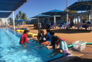 South Hedland primary school children learn to Swim My Way
