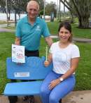 Cairns initiative sees discarded plastic straws recycled into park seating