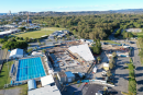 Construction of Gold Coast's new Miami Aquatic Centre moves forward