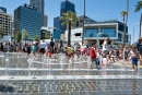 Perth's troubled Elizabeth Quay playground reopens for summer