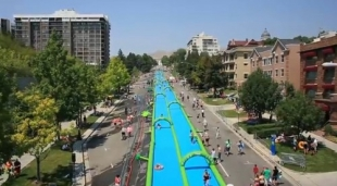 City Slider delivers aquatic thrills to towns and cities